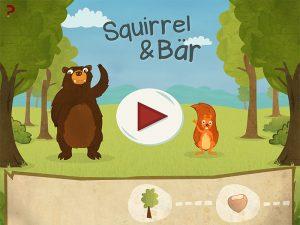 Squirrel und Bär - Start