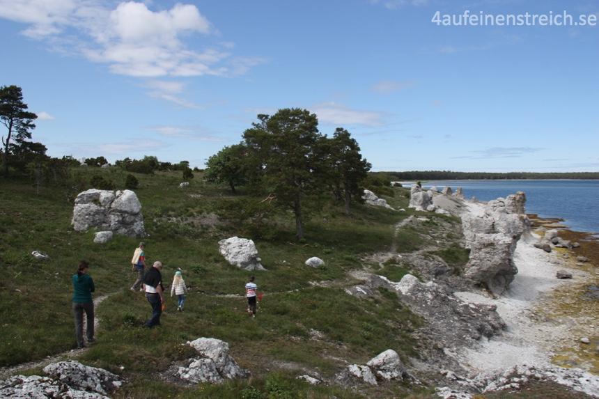 Im Norden Gotlands ist es auch schön...