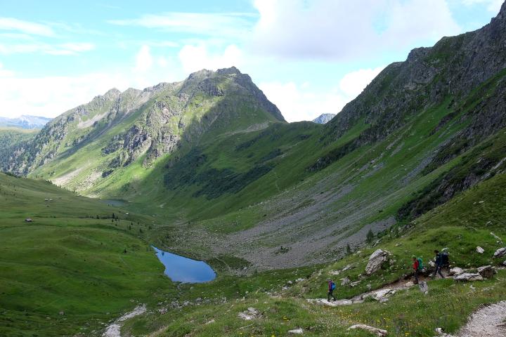 58GradNord - Karnischer Höhenweg - Abstieg Filmoorhütte