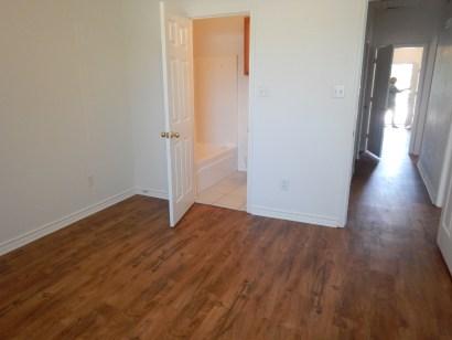 Vinyl flooring for rental