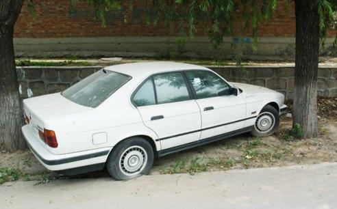 Dumped car at my rental