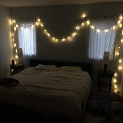 bedroom christmas lights