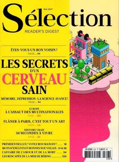 Abonnement Sélection du Reader's Digest - Intermagazines