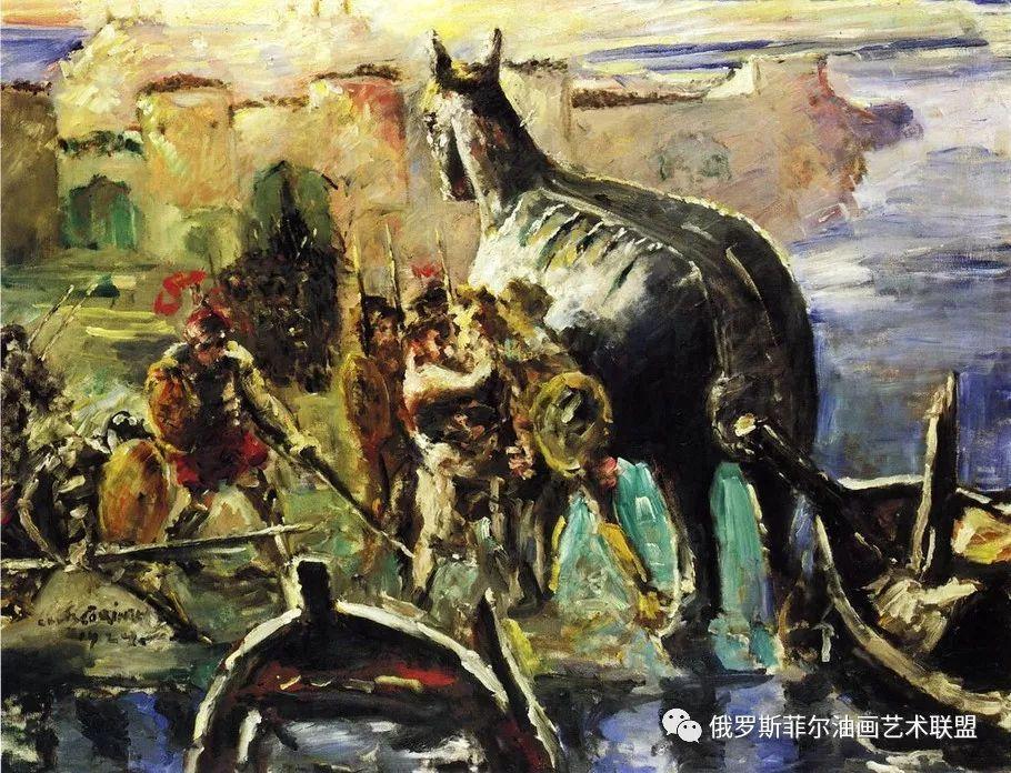 德國印象派畫家Lovis Corinth油畫作品欣賞-雪花新聞