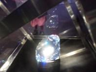 Shiny crystal bigger than a head