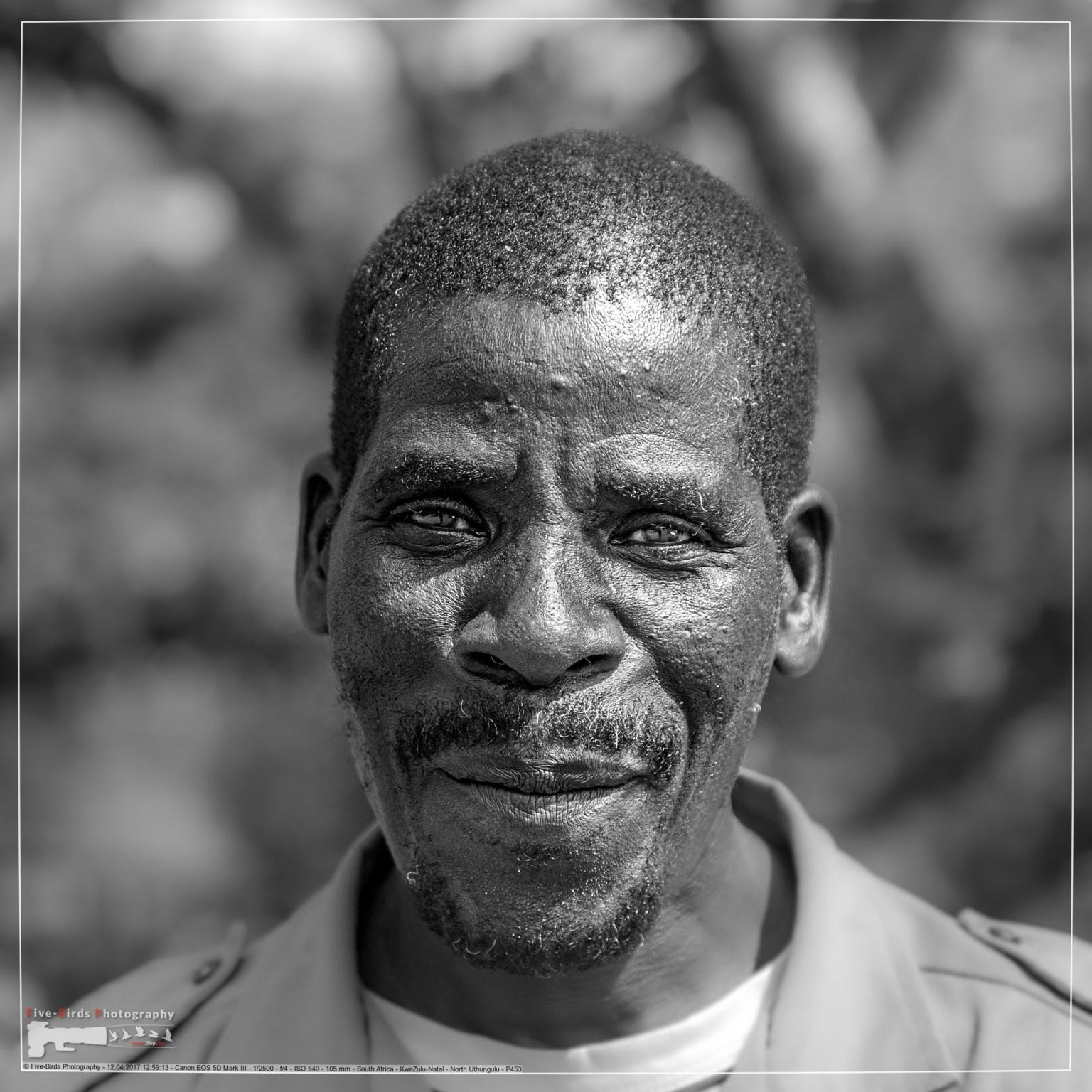 Südafrikanischer Wachmann