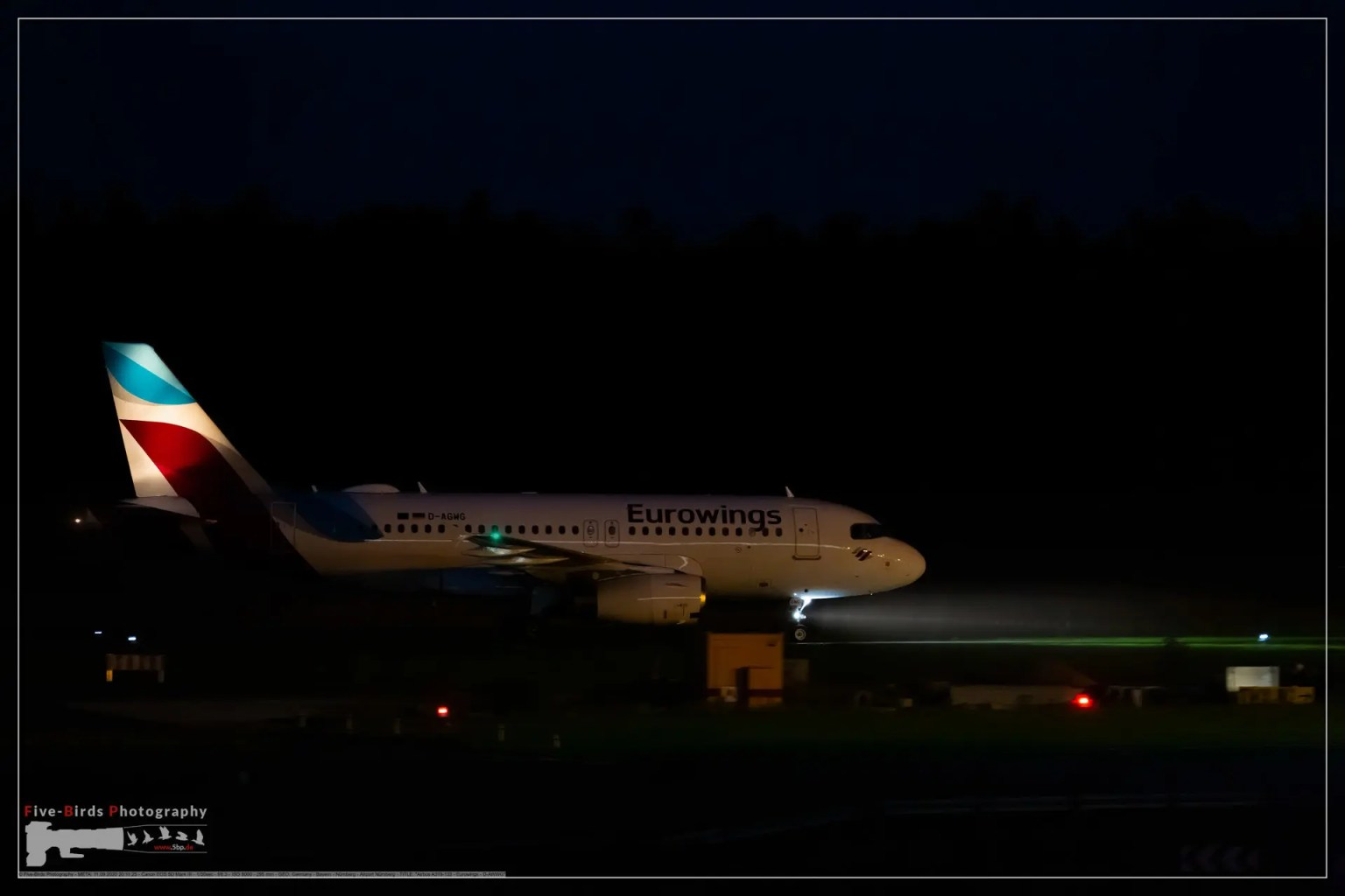 Airbus A319-132 - Eurowings - D-AWWG