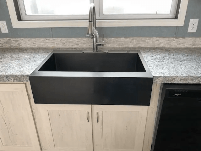 kitchen sink options in mobile homes