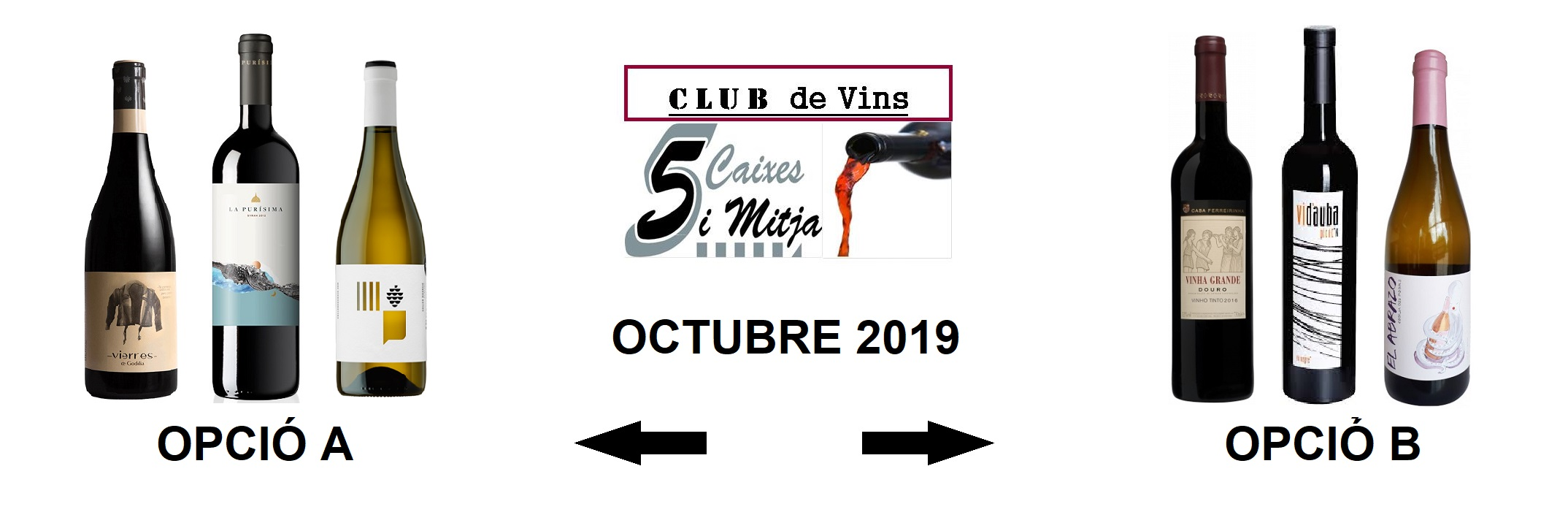 Selecció Octubre 2019 – Club de Vins