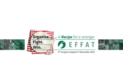 Organise. Fight. Win 5th EFFAT Congress to be held in Zagreb