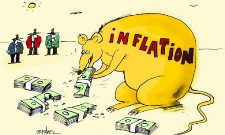 За инфлацията