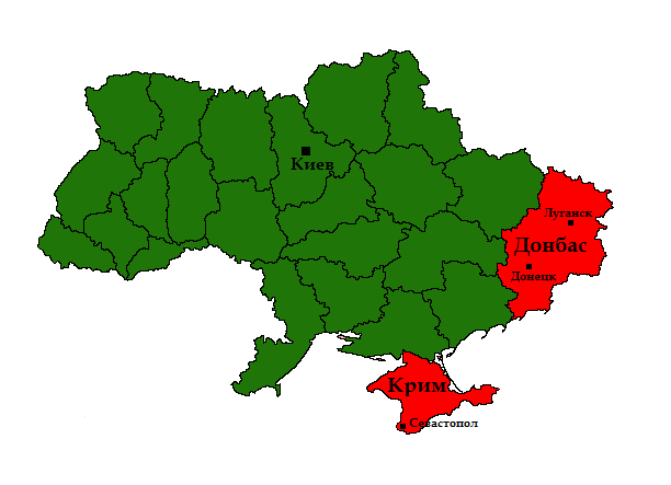 Властта в Киев губи контрола върху Донбас