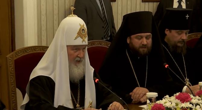 Какво каза и какво премълча патриарх Кирил