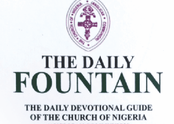 Anglican Daily Fountain Devotional 30 October 2021