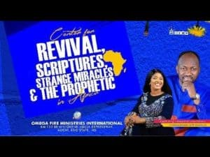 Omega Fire Ministry Live Sunday Service 25th April 2021