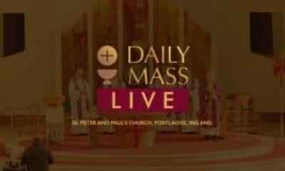 Live Daily Holy Mass 20 May 2021 St Peter & Paul's Church Ireland