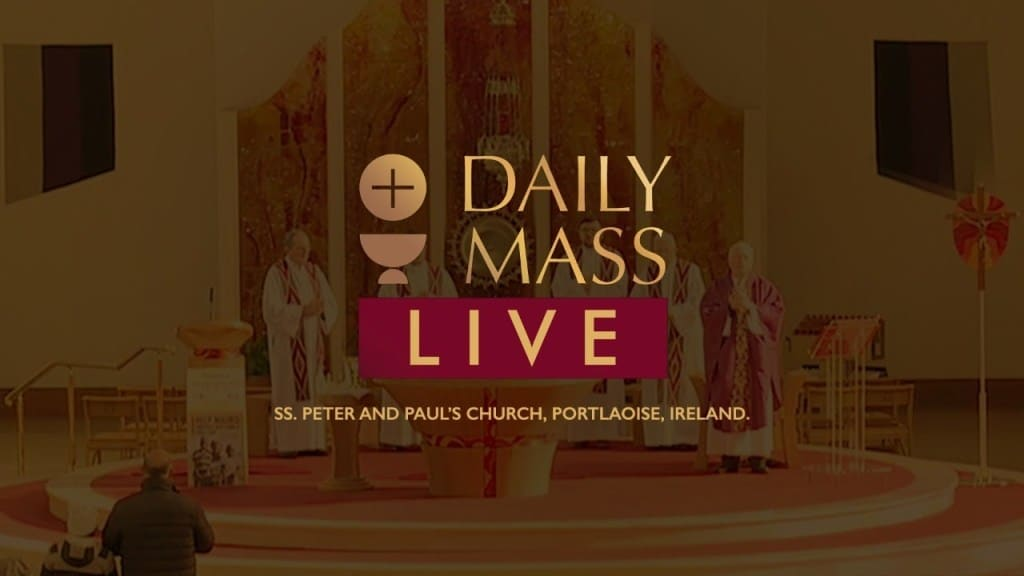 Live Catholic Mass 3 March 2021 By St Peter & Paul's Church Ireland
