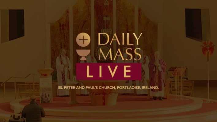 Live Catholic Mass 25th February 2021 St Peter & Paul's Church Ireland