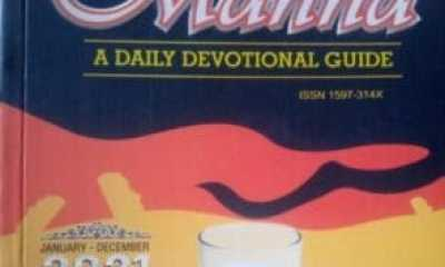 DCLM Daily Manna 20th June 2021 – Danger In Departing From God