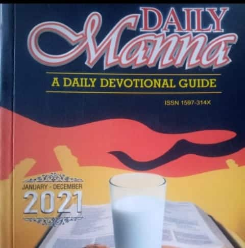Deeper Life Daily Manna 1 January 2021, Deeper Life Daily Manna 1 January 2021 – Let Emmanuel Guide You, Premium News24