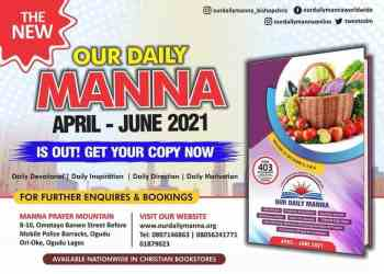 Our Daily Manna 30th June 2021 ODM