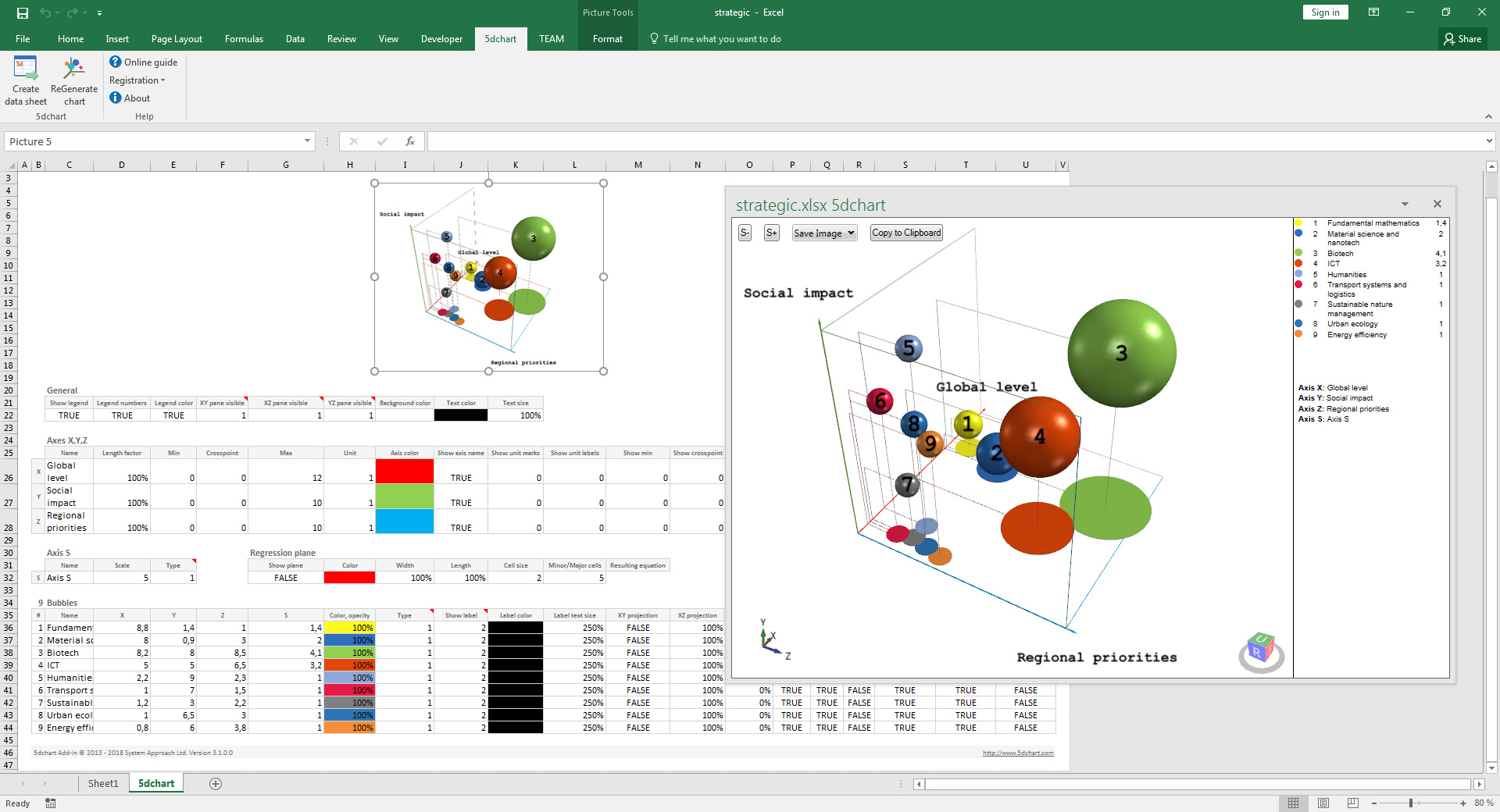 5dchart Add In For Ms Excel 3 1