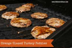 orange glazed turkey grill