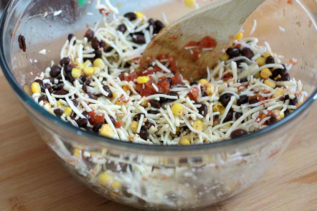 Tex Mex Black Bean and Corn Quesadillas | 5dinners1hour.com