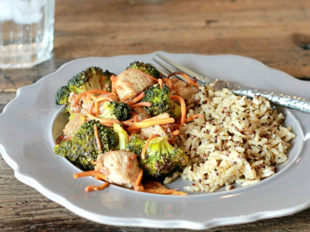 One Pan Balsamic Chicken and Broccoli | 5dinners1hour.com