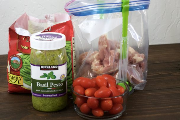 Baked Pesto Chicken Tenders | 5dinners1hour.com