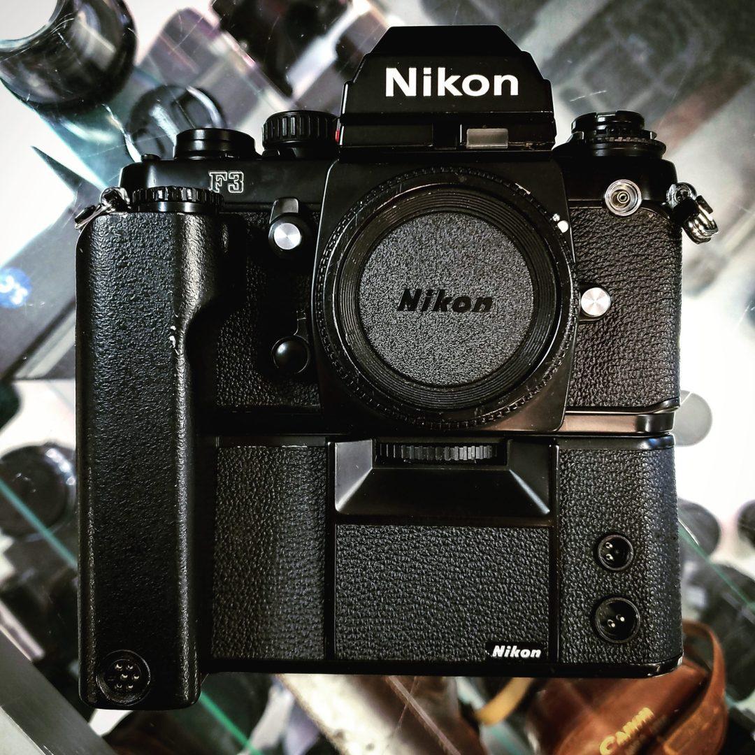 Nikon F3 W/MD-4 Motor Drive
