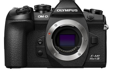 Olympus debuts the OM-D E-M1 Mark III