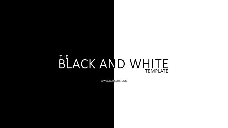 Black'n'White Banner