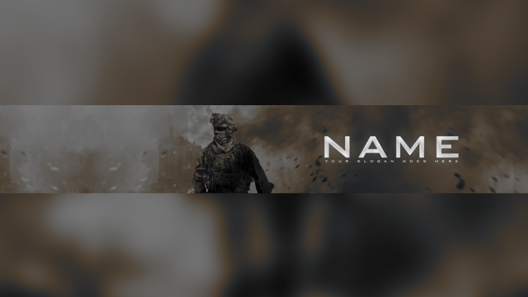 Call Of Duty YouTube Banner