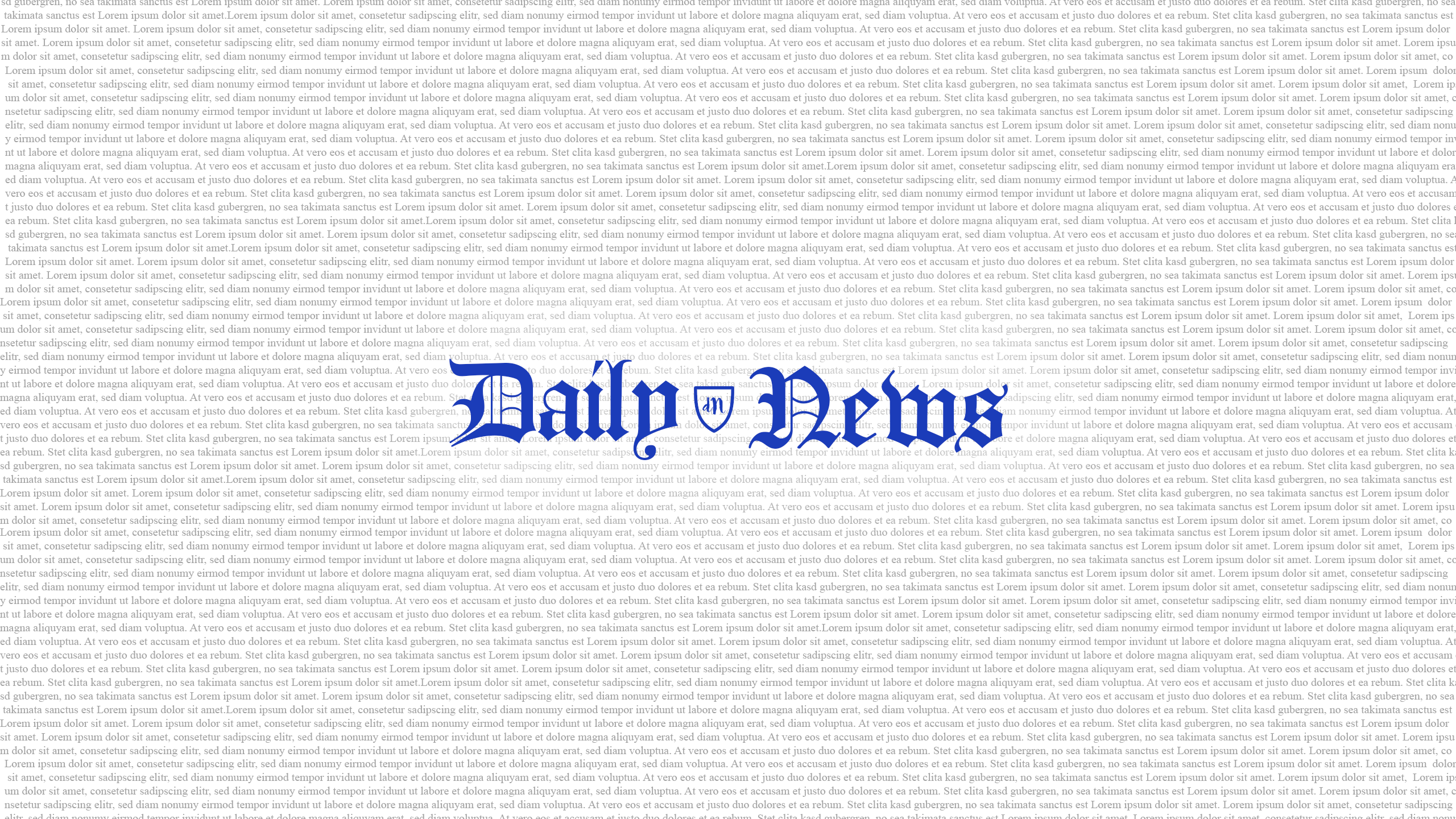 Daily News Banner