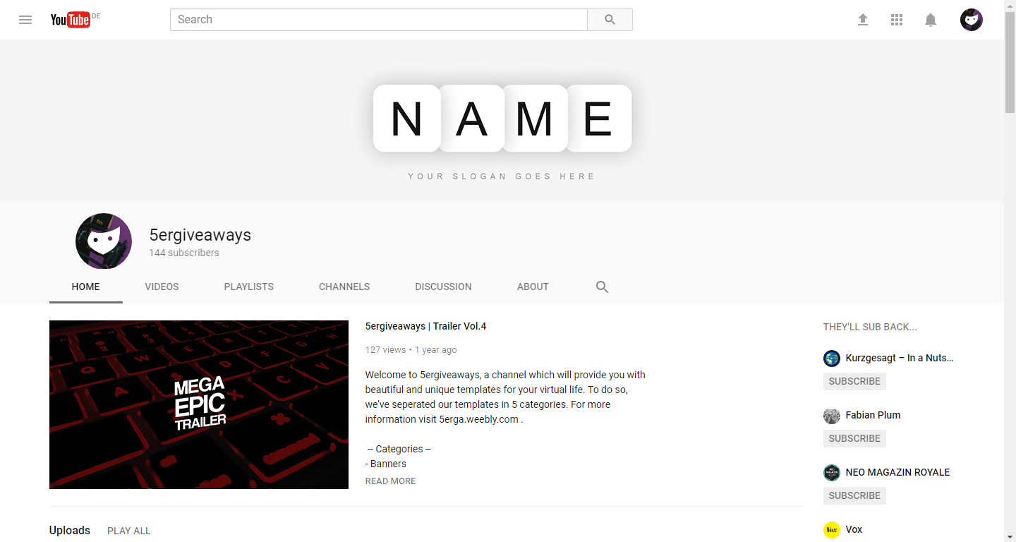 Fire YouTube Example