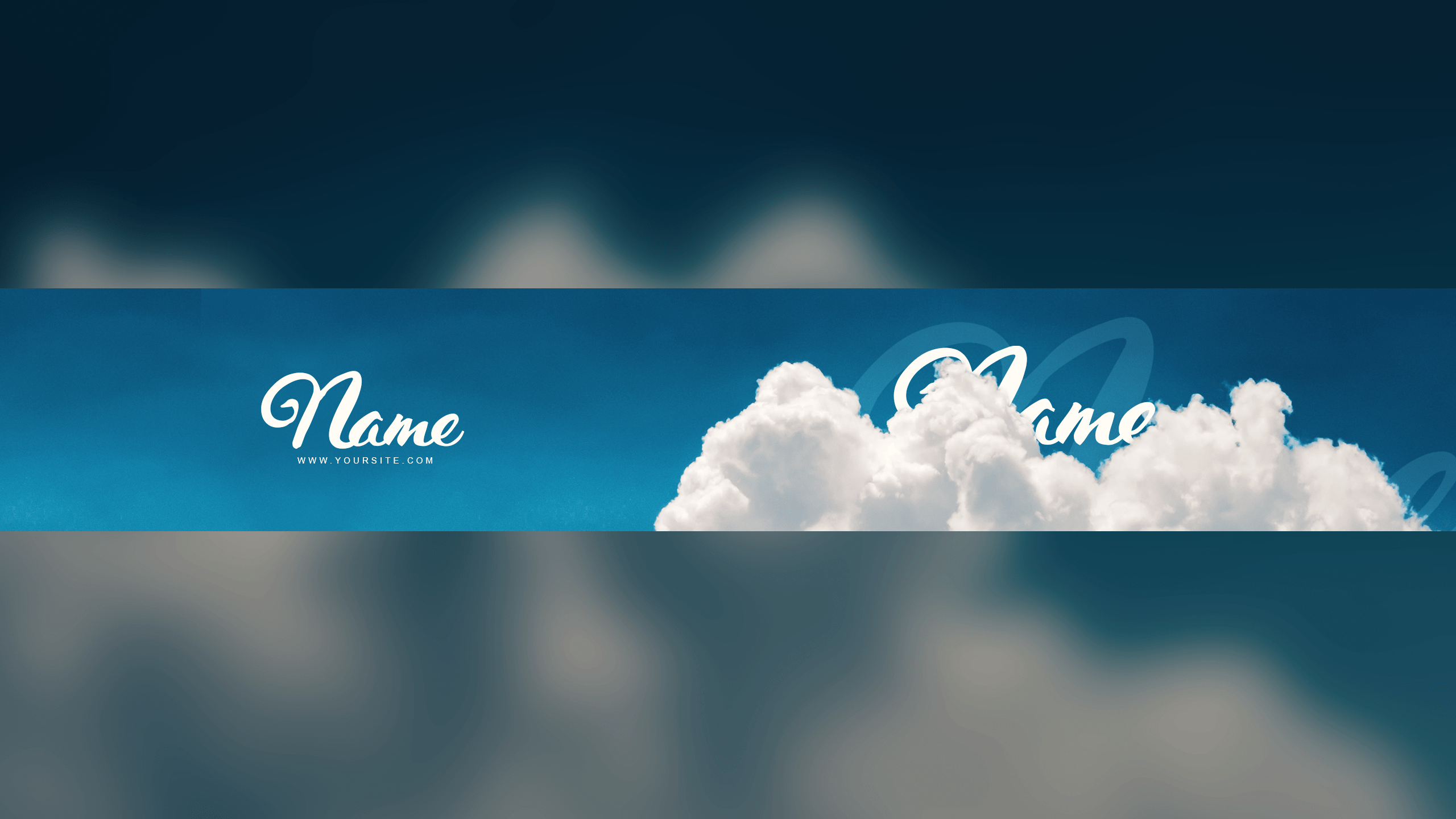 Clouds Banner