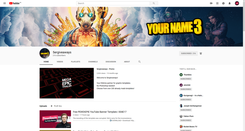 Borderlands 3 Banner Example
