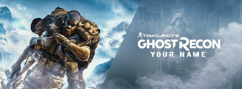 Ghost Recon Breakpoint Facebook Cover