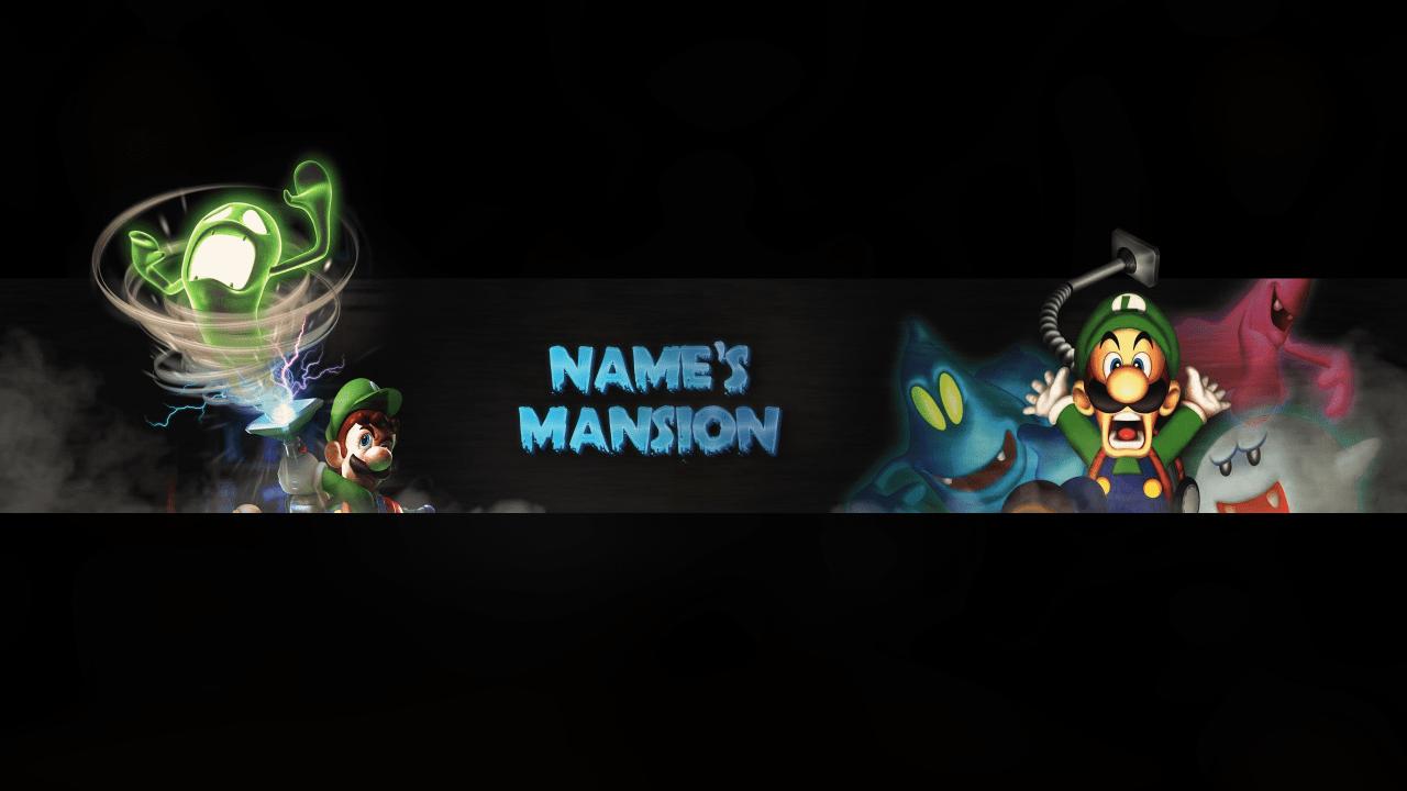 Luigis Mansion Banner