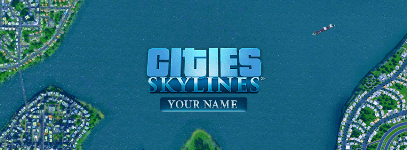 Cities Skylines Facebook Cover