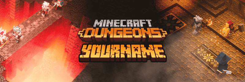 MC Dungeons Twitter Cover