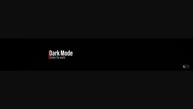 Dark Mode Banner