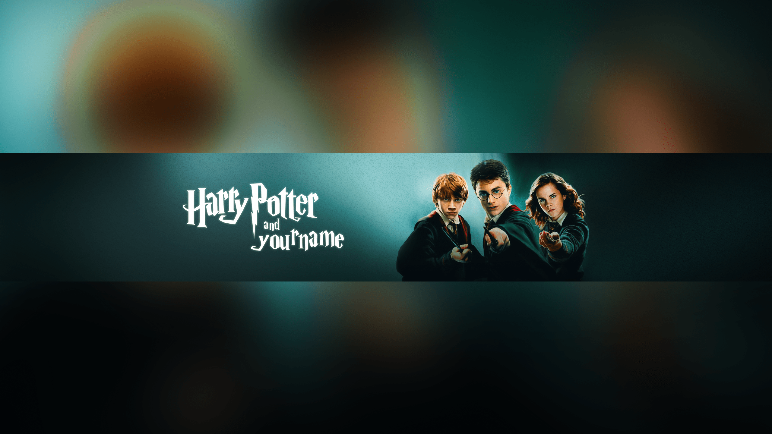 youtube has created a remarkable resource for people to participate in. Free Harry Potter Youtube Banner Template 5ergiveaways