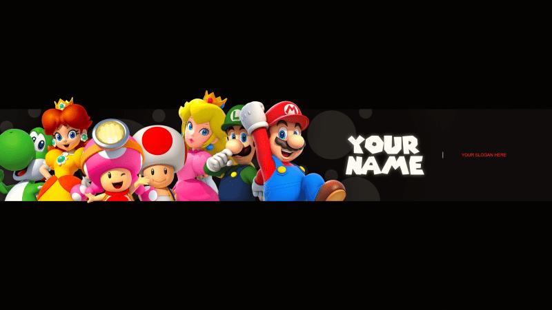 Nintendo Gang Banner