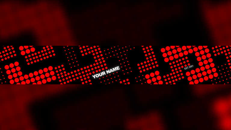 Red Dots Banner