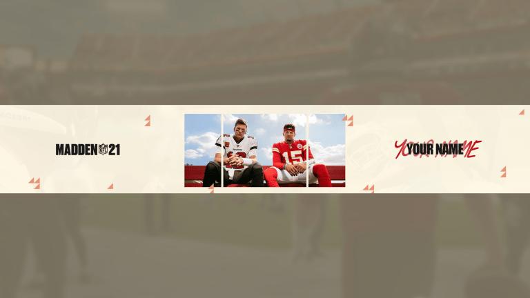 Madden NFL 22 YouTube Banner