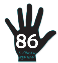 5 Finger gives a review of 86