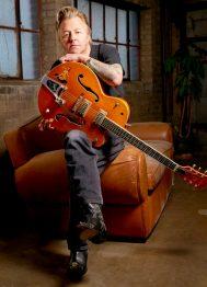 Brian Setzer, Minneapolis, February 22, 2011. © Tony Nelson