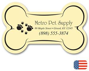 108868 Dog Bone Magnet